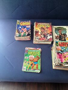 160 +++ VINTAGE COMIC BOOKS FROM THE 1960s-70s 80s
