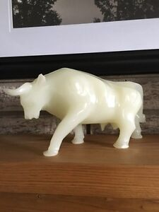 Alabaster Bull Figurine Kitchener / Waterloo Kitchener Area image 5