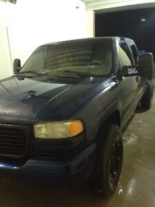 2002 Sierra forsale or trade for a diesel