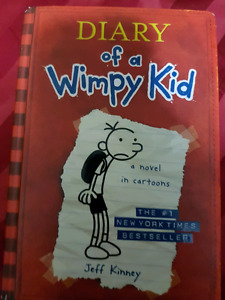 Diary of a wimpy kid, hard cover