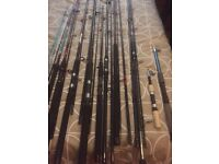 Fishing rods reels and tackle