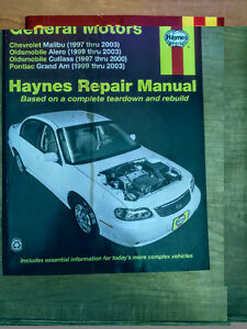 GM Cars Haynes repair manual