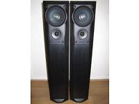 MISSION 782 Speaker Floor Standing Black Ash 200W 3-way Home Cinema