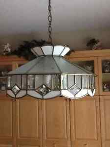 Authentic glass Tiffany ceiling fixtures London Ontario image 3