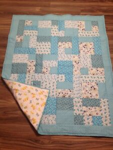 Hand Quilted Patchwork Baby Quilts - New