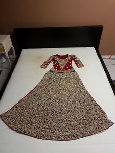 Rich Red Wedding Outfit