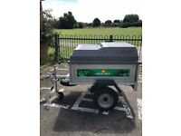 Daxara 127 Trailer with hard top ideal for camping