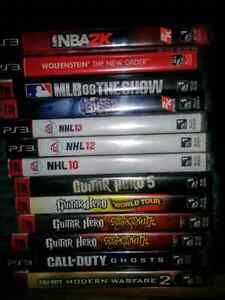Selling as LOT , PS3 Games/ guitar/ move charge station