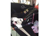 Baby Elagabalus car seat and Iso fix base