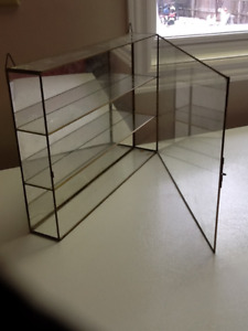 Wall Cabinet With Glass Doors Buy Or Sell Hutches