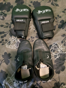 Martial Arts shoes and gloves! Used condition but in great shape