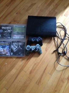 Ps3, 2 controlers, 4 games