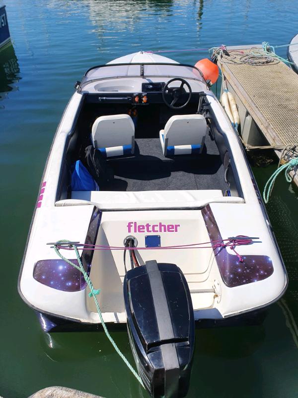 Fletcher speed boat