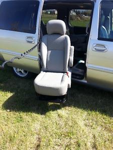 SitnLift equipped Mini Van
