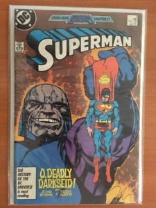 CROSS-OVER LEGENDS CHAPTER 17 SUPERMAN #3 March 1987 Comic Book