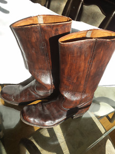 Men's Frye Boots, higher heels than normal, 11 D, ex. condition