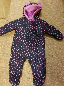 Snow suit for 6-12 months baby girl