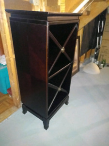 *Bombay Wine Stand Solid Wood*