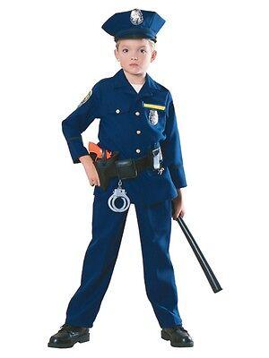 Police Officer Child Boys Costume