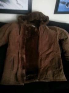 Women's brown coat