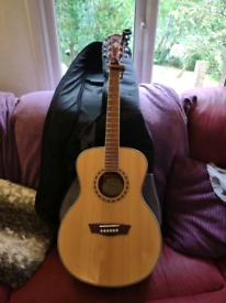 Washburn Wf10s acoustic guitar