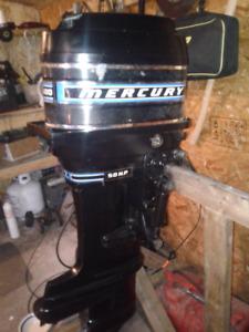 1980 Merc Kiekhaefer 50HP 1000$