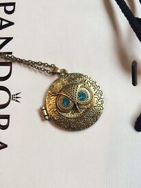 Owl locket