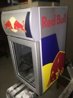 Red bull man cave mini fridge