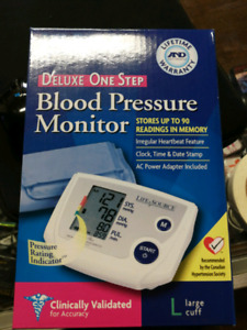 Ksq buy&sell life source deluxe one step blood pressure monitor