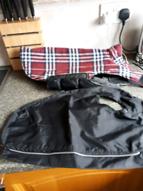 2 dog coats for sale