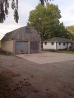 Country lot for rent