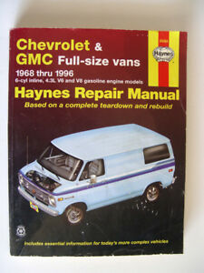 Haynes Chev & GMC Full Size Van Repair Manual