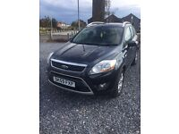 FORD KUGA ZETEC TDCI IN LOVELY SEA GREY 59 PLATE