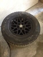 Jeep Grand Cherokee rims with tires