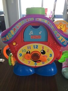 Horloge fisher price
