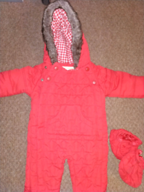 M&S Marks and Spencer snowsuit 3-6 months