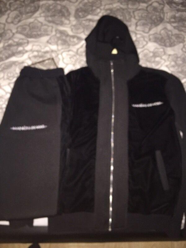 Mdv De maniere de voir track suit jacket and mdv in manchester city
