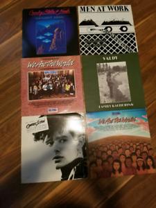 Various vinyl records 5$