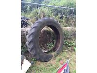 Large tractor tyre perfect for sand pit / garden planter etc