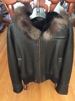 Women's Genuine Leather Winter Jacket
