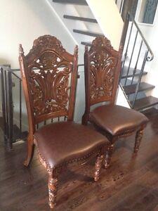 Beautiful rare statement chairs!