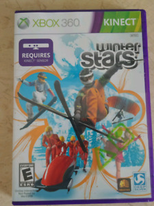 Winter Stars Kinect xbox 360 game