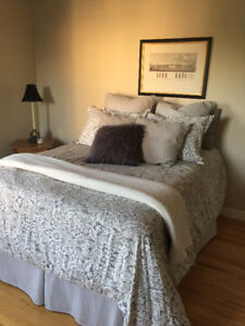 Double Size Mattress , Box Spring and Frame