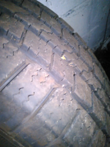 $600 New all weather tires! Goodyear wrangler sr-a