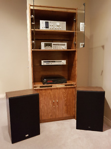Stero system & cabinet package