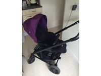 Joie pram + all accessories