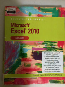 Used textbook: Microsoft Excel 2010 Complete