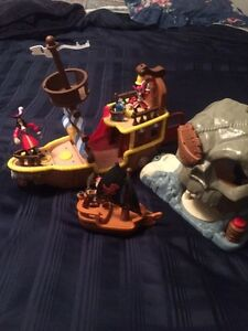 Disney Jake pirate ship