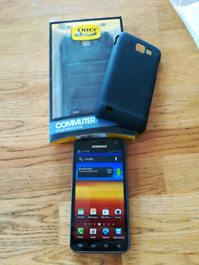 Samsung S2 HD lite Smartphone with 2 cases