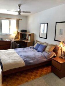 chambre à louer à St-Bruno tranquille et moderne